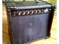 Powerful little Guitar Amp -10 Watt with Overdrive/Pedal/Line-out