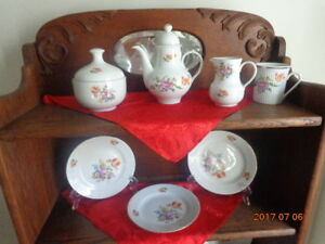 Collection of German Democratic Dishes:  Great Deal For $20.00!