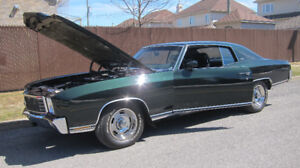 NEW 1971 MONTE CARLO - RESTORED AND DOCUMENTED