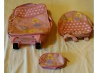 3 in 1 girls travel bags