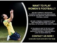It's nearly Kick Off time .... Join our women's football club for the new season