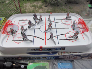 Vintage ProStars 2 Table Hockey Game (complete with extra parts)