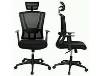 NEW!!Homdox High Back Mesh Ergonomic Office Chair Desk Chair with Mesh Padded Seat