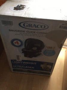 Graco lightweight snugride click connect infant car seat