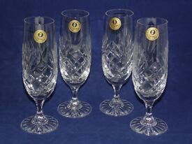 4 beandy 4 champagne glasses