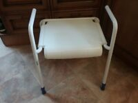 NEW SHOWER STOOL IMACULATE CONDITION