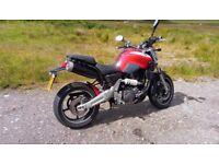 Yamaha mt-03, A2 compliant, 35kW, 660cc