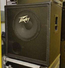 "Peavey 115TVX - 15"" 4ohm bass guitar speaker cabinet"