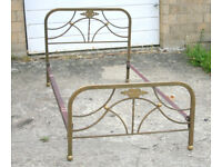 Art Deco Design Brass Bed