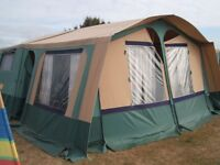 TRIGANO CHANTILLY GL TRAILER TENT PLUS ACCESSORIES