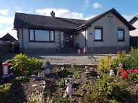 4 Bedroom Bungalow with Countryside view. 7 miles from Turriff. Offers over £240,000.