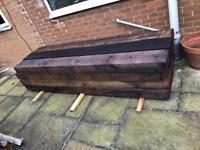 Railway sleepers brand new treated solid wood x 7