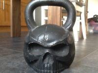 32kg Skull kettlebell