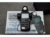 Sekonic Digitalmaster L-758D Light Meter