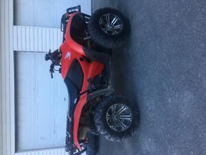 2013 Honda 420 Fourtrax 4x4 ATV