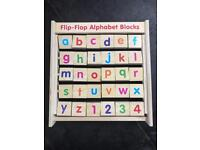 Wooden Alphabet learning Toy