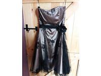Gorgeous strapless dress size 14
