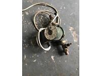 Oil boiler heating pump