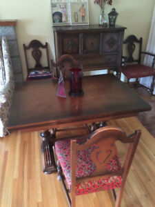 ** Dining Room Table and Chairs **