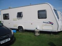 2008 bailey pageant vendee series 6 fixed bed.