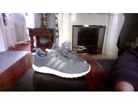 Adidas foam cloud grey trainers