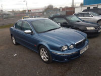 JAGUAR AUTOMATIC, 7 MONTHS MOT, WARRANTED LOW MILEAGE, FULL VOSA HISTORY, FULL LEATHER SEATS