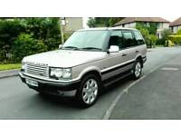 2001 RANGE ROVER P38 4.0 HSE AUTO SILVER FULL M.O.T F.S.H 2 OWNERS EXCELLENT DRIVE NICE 4X4