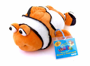Webkinz Finding Nemo Clownfish Plush NEW WITH CODE Stuffed Toy