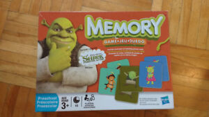 Memory - Le jeu - Shrek