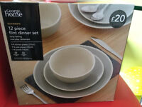 New - Unused 12 piece Dinner set