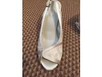 BHS bridal shoes