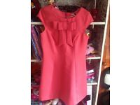 Coral river island dress size 10 new