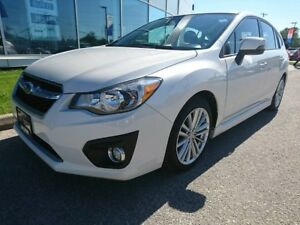 2013 Subaru Impreza 4Dr Limited Pkg auto Leather Navigation