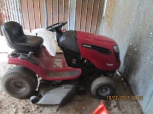 Twin cylinder 24 hp Sears Craftsman riding lawnmower