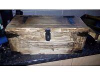 Wooden Strongbox