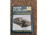 Rover 618, 620 & 623 manual