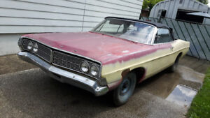 Parting out 1968 Galaxy 500