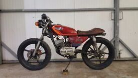 Yamaha RXS-100 1989 Cafe Racer/Brat Project
