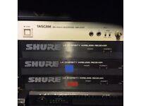Shure wireless receivers
