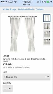 IKEA curtain for sale