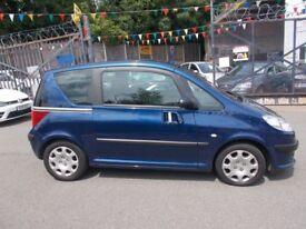 Peugeot 1007 1.4 DOLCE (blue) 2006