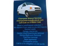 Clearspace Stripout Services (Removals)(man and van)