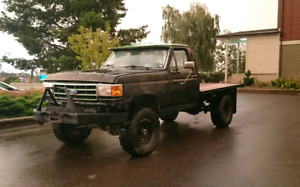 1992 f250 regular cab flat deck 4x4