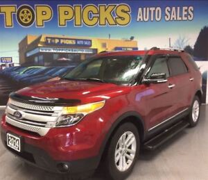 2014 Ford Explorer ONE OWNER, LEATHER, SUNROOF, NAVIGATION, LOW