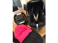 Masi cosi car seat and easy base 2