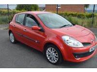 £30 A YEAR ROAD TAX 2008 RENAULT CLIO 1.5 DCI DIESEL FULL MOT