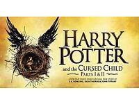 2 Harry Potter Tickets 22nd July Saturday Stalls Parts 1 and 2