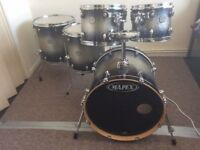 Mapex meridian drum kit shell pack