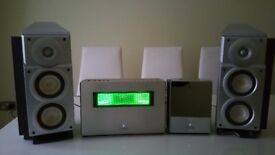 Sharp SD-NX10 1-Bit CD/MiniDisc Player/Recorder and Speakers
