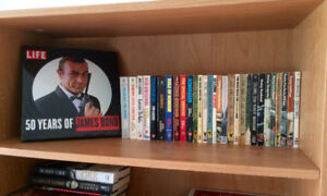 30 James Bond Books